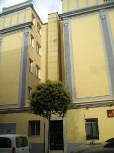 ascensor integrado en fachada