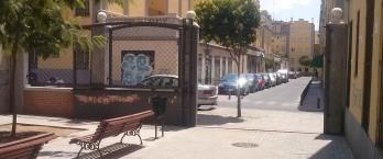 La calle San Félix vista desde el parque