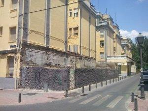 Anexo derribado en San Evaristo