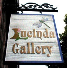 Lucinda Gallery Sign - 1